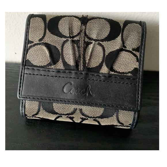 Coach Handbags - Black Coach Wallet